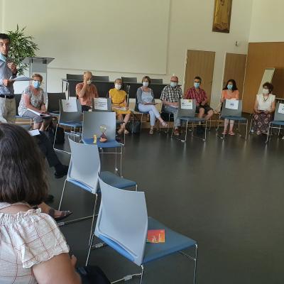 Rencontre des Mouvements d'Action Catholique avec Mgr Laurent PERCEROU - 15 juin 2021.