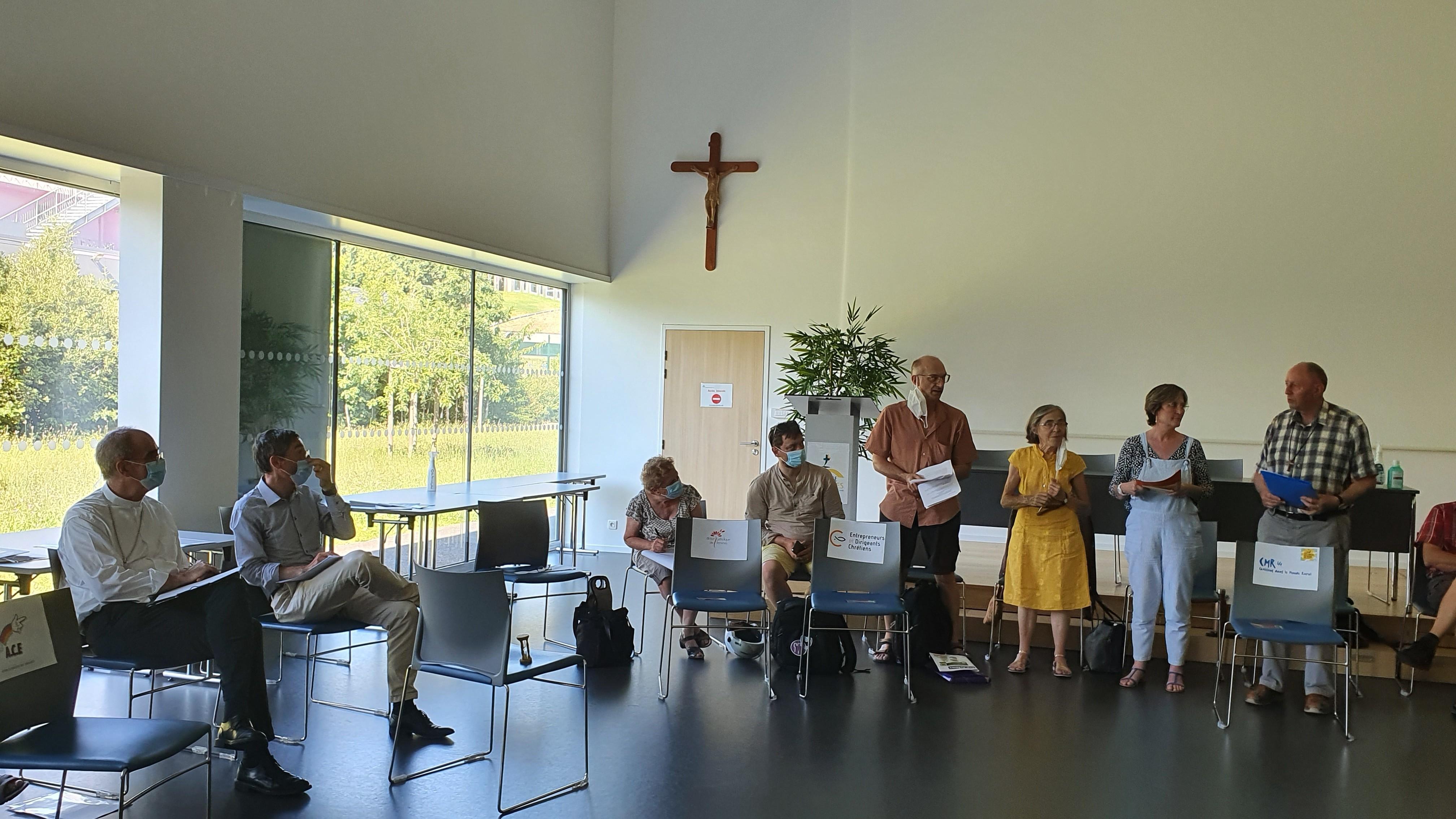 Laurent, Geneviève, Florence et Hubert - CMR44