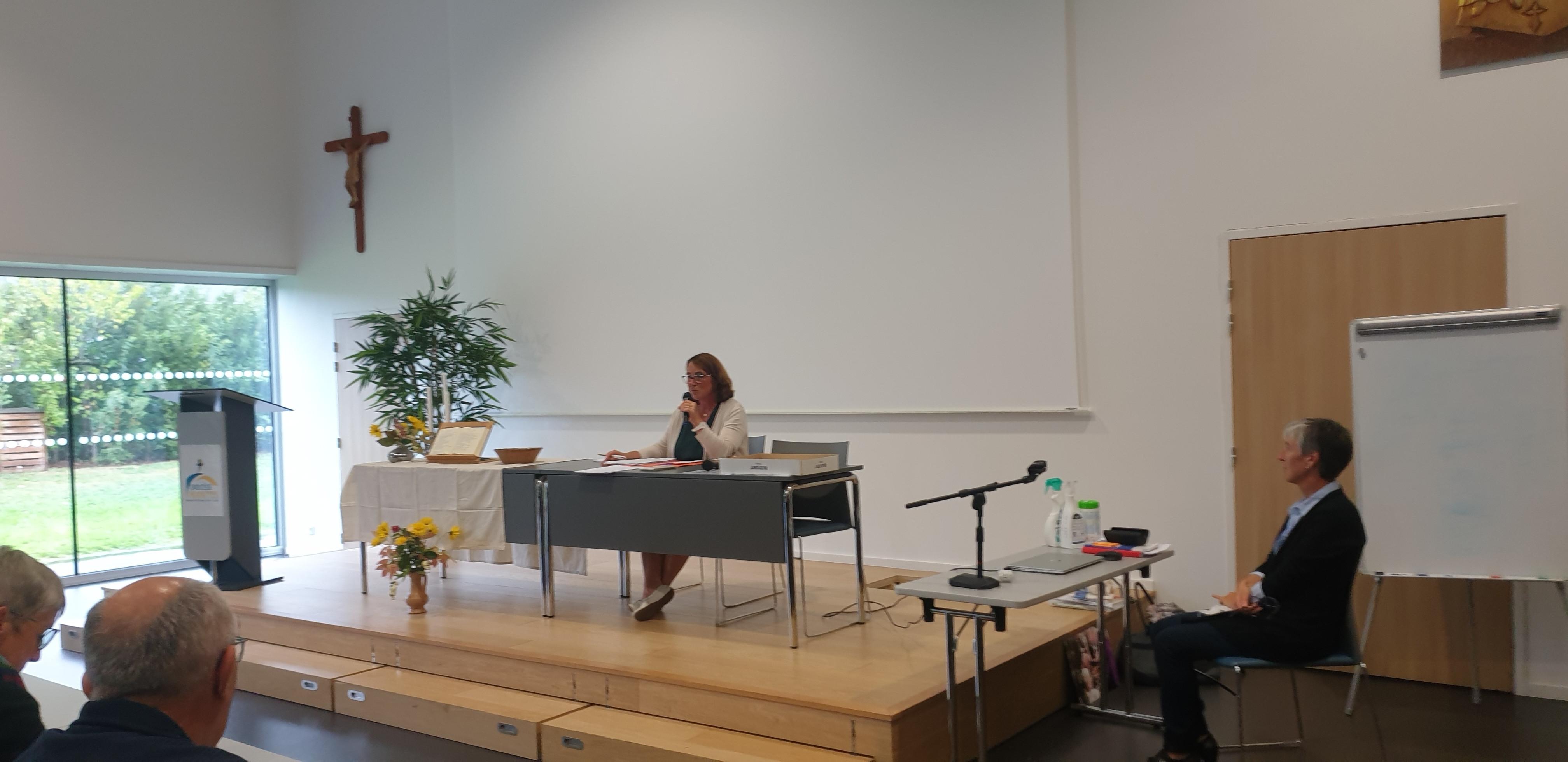 Valerie et Joanne - intervenantes à Nantes